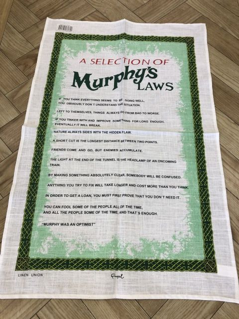 Murphys Law Tea Towel